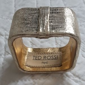 Ted Rossi Leather Bangle
